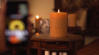 Ecco la candela smart, si accende e spegne da smartphone