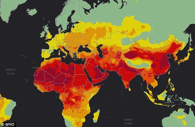 Il 90% del mondo respira aria inquinata