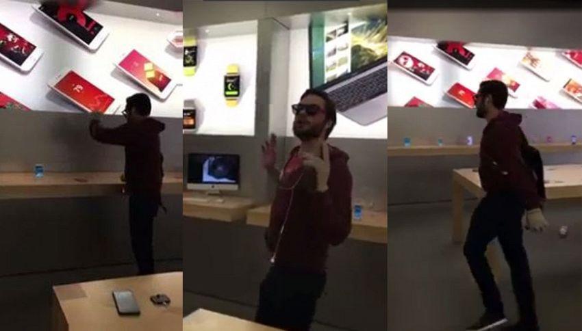 Niente garanzia Apple? Entra nello store e spacca tutti gli iPhone