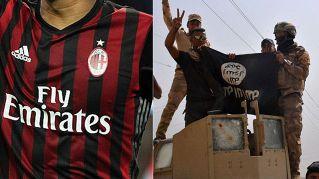 Isis: ecco la severa punizione per chi indossa la maglia del Milan