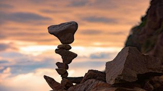 Rocks portrait, spettacolari opere d'arte con pietre in equilibrio
