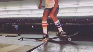 Skate: le incredibili acrobazie della piccola Sky, 8 anni