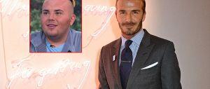 Spende 23mila euro dal chirurgo per assomigliare a Beckham
