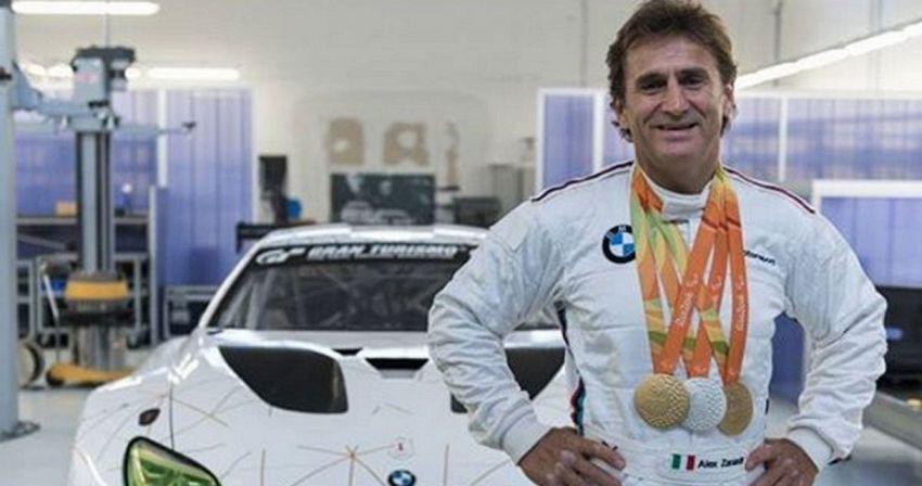 Alex Zanardi di nuovo in pista: farà la gara GT al Mugello