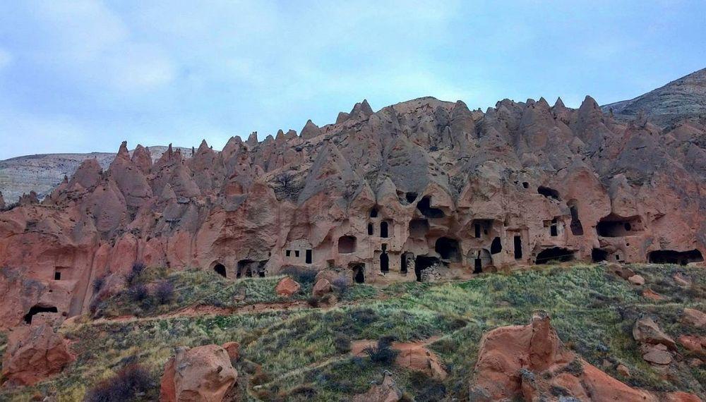 Le incredibili citt sotterranee della cappadocia supereva for Antica finestra a tre aperture