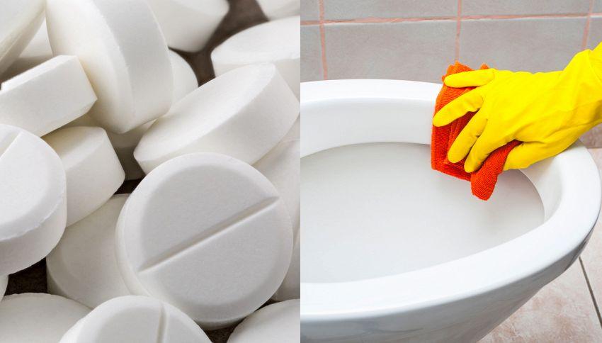 L'aspirina pulisce i bagni, toglie i brufoli e …9 insospettabili  usi