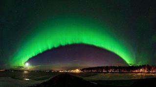 Il cielo dell'Artico diventa verde: ecco cosa sta succedendo