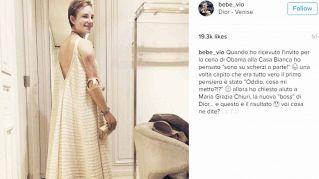 Bebe Vio, un Dior da favola per la cena con Obama