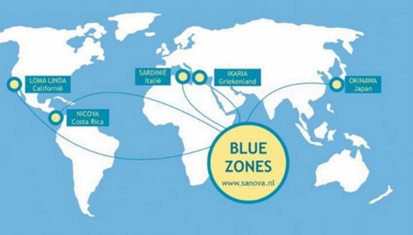 Ecco le Blue Zones, le 5 aree del pianeta dove non si muore mai