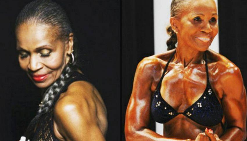 """Ernestine:  """"Ho 80 anni e muscoli d'acciaio"""""""