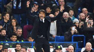 Conte esulta da tifoso, è polemica con Mourinho