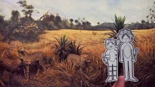 Doodledeux, la coppia che documenta i loro viaggi con teneri disegni