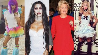 Il pazzo Halloween delle star: insoliti e divertenti travestimenti vip