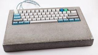 Una tastiera di cemento è l'ideale per una postazione fissa