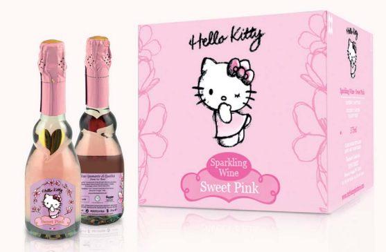 Il vino di Hello Kitty esiste ed è tutto italiano