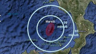 """Vulcano Marsili: """"Pericolo tsunami in Sicilia, Campania e Calabria"""""""