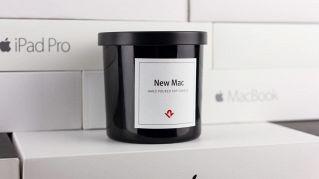 Questa candela profuma come un nuovo Mac, appena tolto dalla scatola