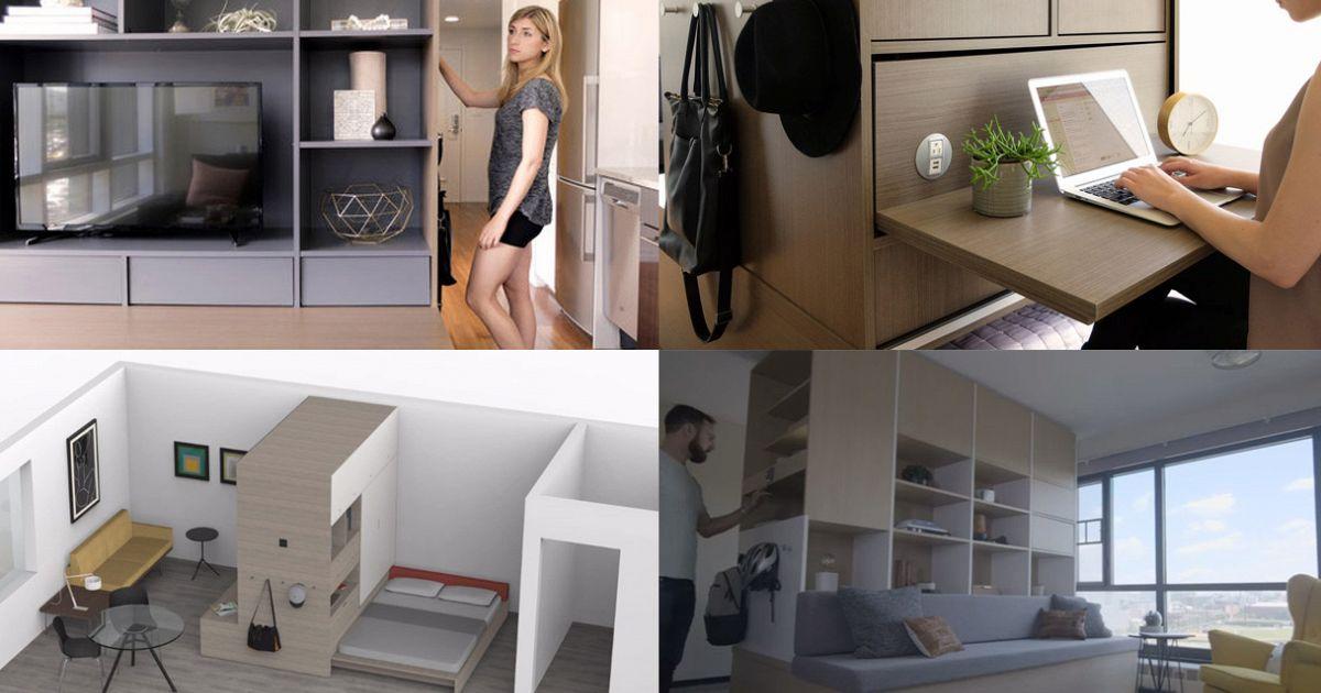 Ori i mobili si muovono e le case piccole si trasformano - Mobili per case piccole ...