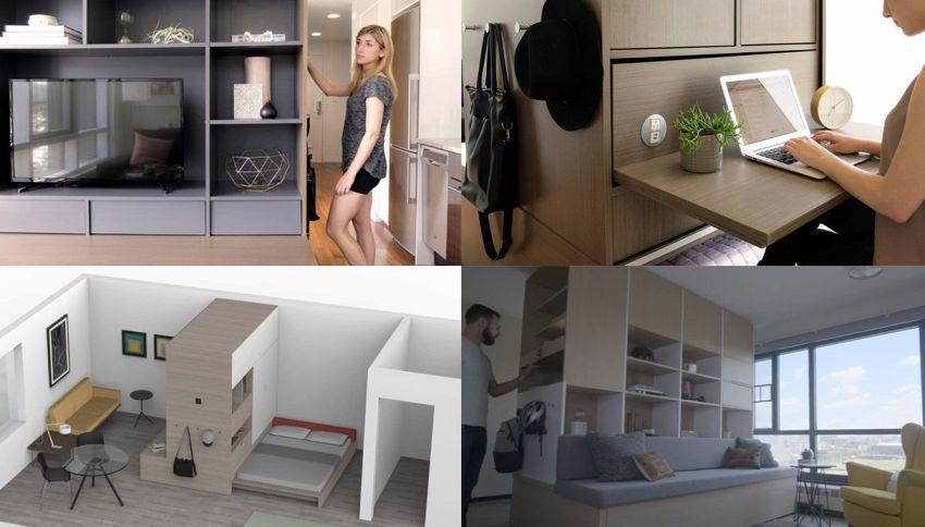 Ori, i mobili si muovono e le case piccole si trasformano