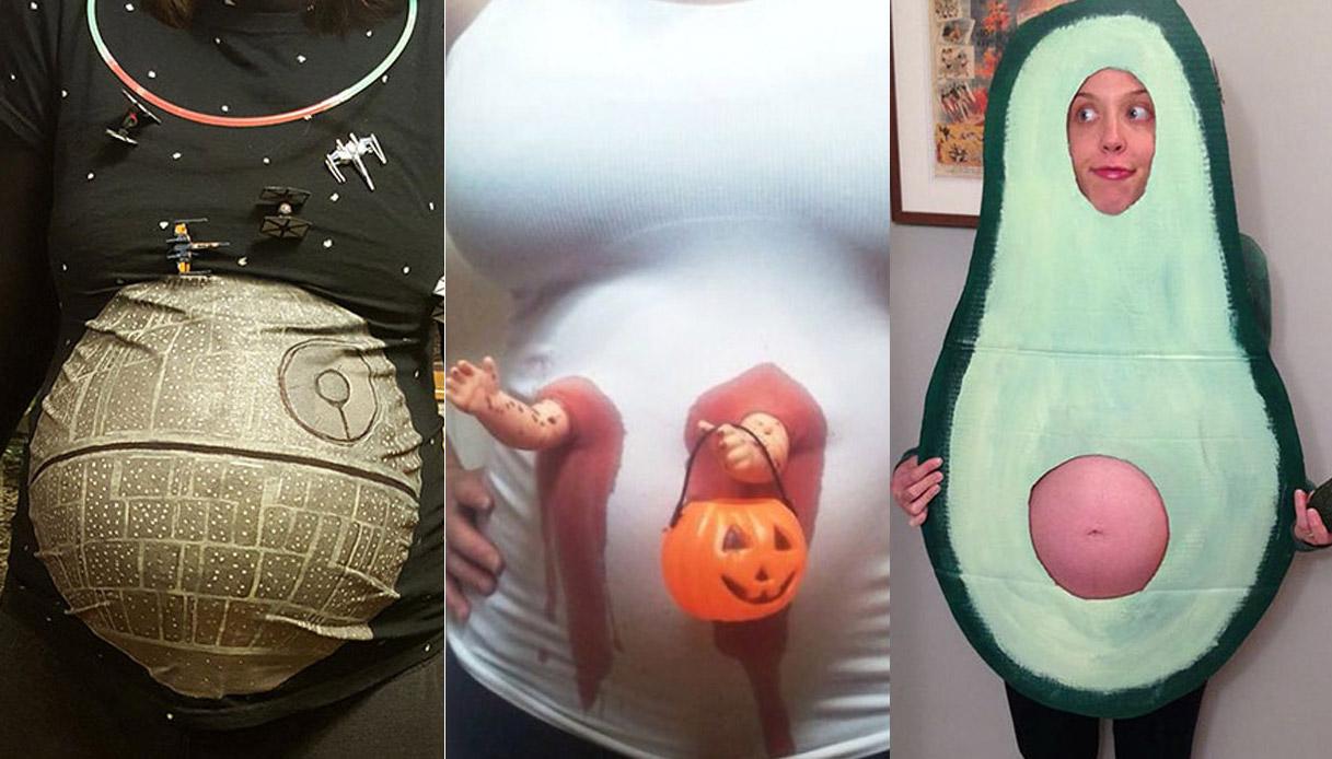 Preferenza Halloween: i costumi più divertenti per le donne incinte NB42