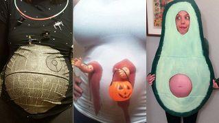 Halloween: i costumi più divertenti per le donne incinte