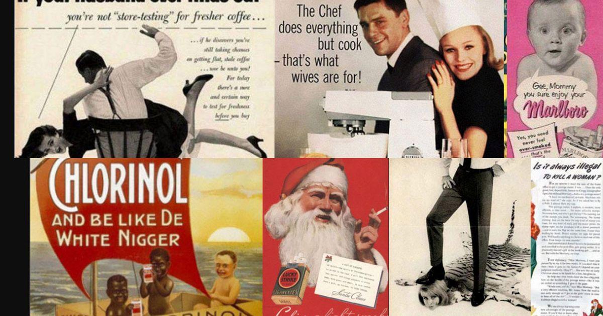 Sessiste razziste politicamente scorrette le pubblicit for Cucinare anni 50