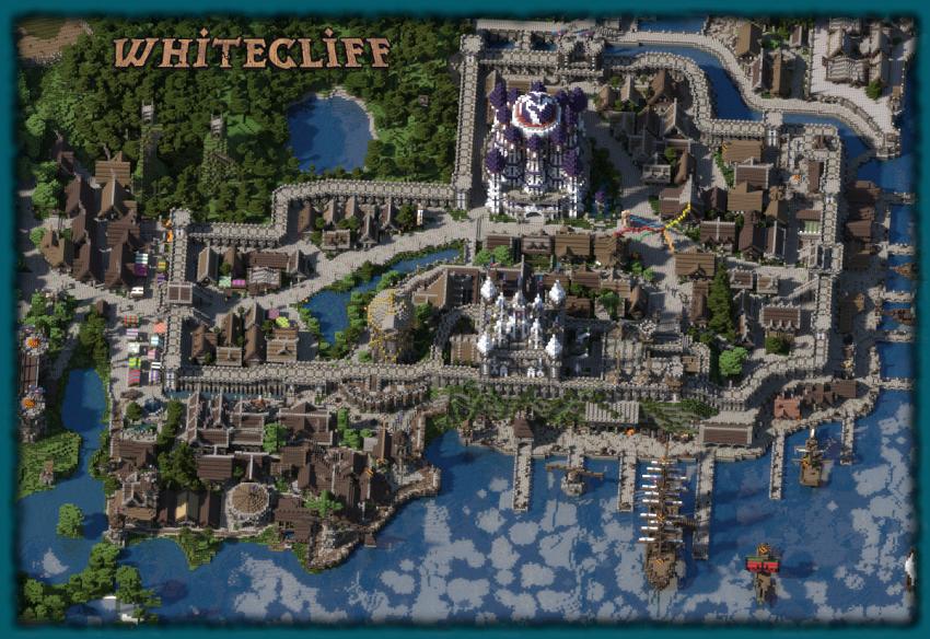 5 anni per creare questo incredibile regno virtuale in Minecraft