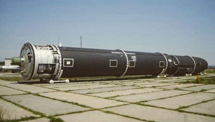 La Russia presenta il missile nucleare Satan 2