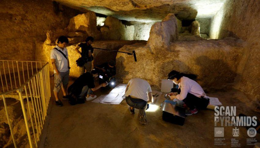 Egitto, scoperte nuove camere segrete nella piramide di Giza