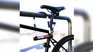 SkunkLock: la serratura per bici fa vomitare chi prova a forzarla
