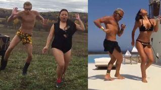 Gianluca Vacchi, la parodia russa spopola su web