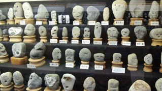 In Giappone il museo delle teste di pietra che sembrano persone