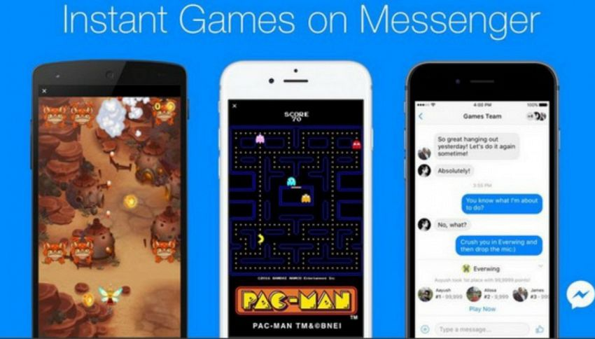 Come giocare a Pac-Man e Space Invaders gratis, su Messenger