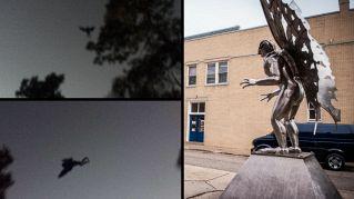 Avvistato in Usa l'uomo falena dopo 50 anni