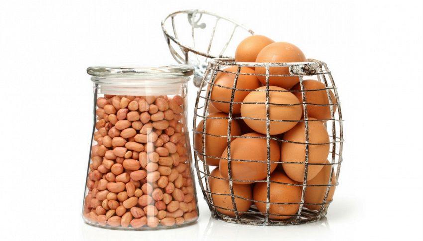 Arachidi e uova: se li mangi da piccolo non sarai mai allergico
