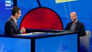 """Roberto Saviano a Che tempo che  fa con """"La paranza dei bambini"""""""