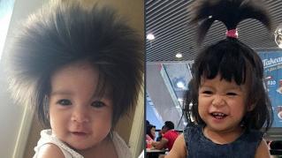 Heather Serna, la bambina capellona accusata di indossare una parrucca