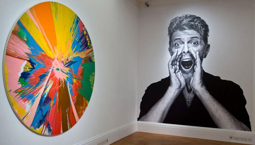 All'asta la collezione d'arte privata di David Bowie