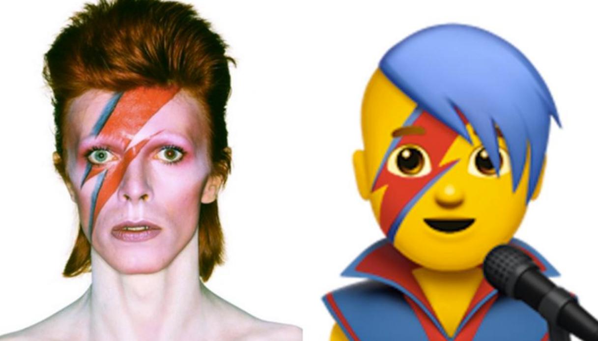 Sta per arrivare l'emoji di David Bowie