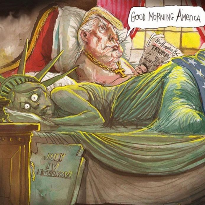 Le migliori vignette sulla vittoria di Donald Trump alle ...