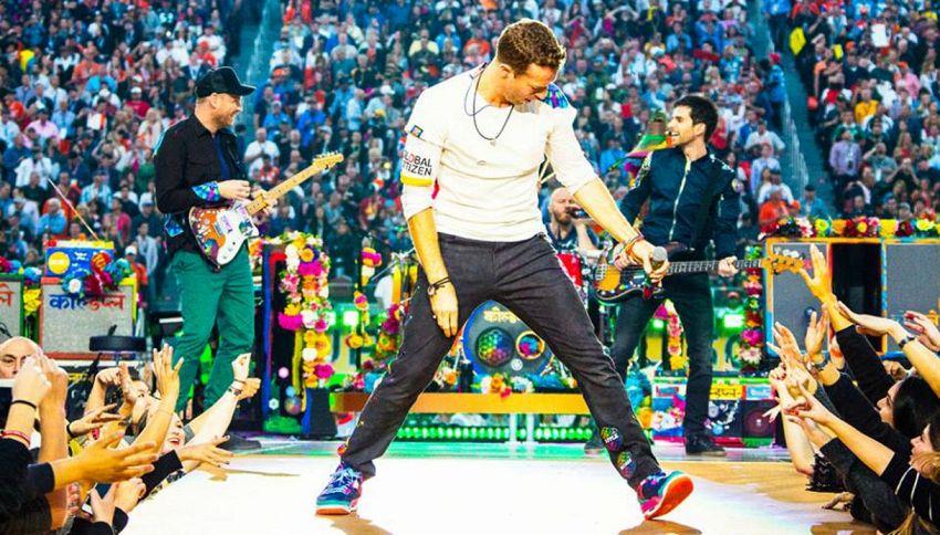 I Coldplay ospiti domenica sera da Fabio Fazio a 'Che tempo che fa'