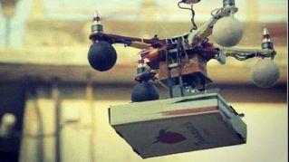 Arriva il drone volante che consegna la pizza