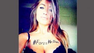 Elena Rizzetto, la sexy madrina del Verona che spopola su Instagram