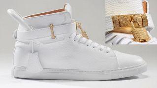 Le scarpe più care del mondo: sneaker in pelle e diamanti  da 118 mila euro
