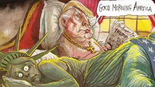 Le migliori vignette sulla vittoria di Donald Trump alle elezioni Usa