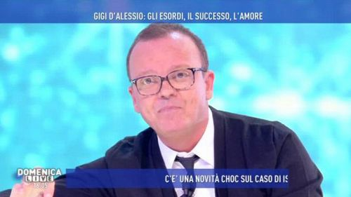 """D'Alessio a Domenica Live: """"La Marini vuole troppi soldi"""""""