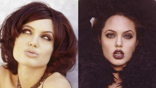 Angelina Jolie, quando era una bellissima ventenne in carne