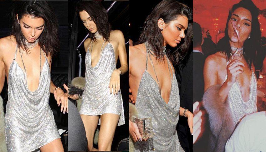 Kendall Jenner ubriaca al suo compleanno scorda la rolls-royce in regalo