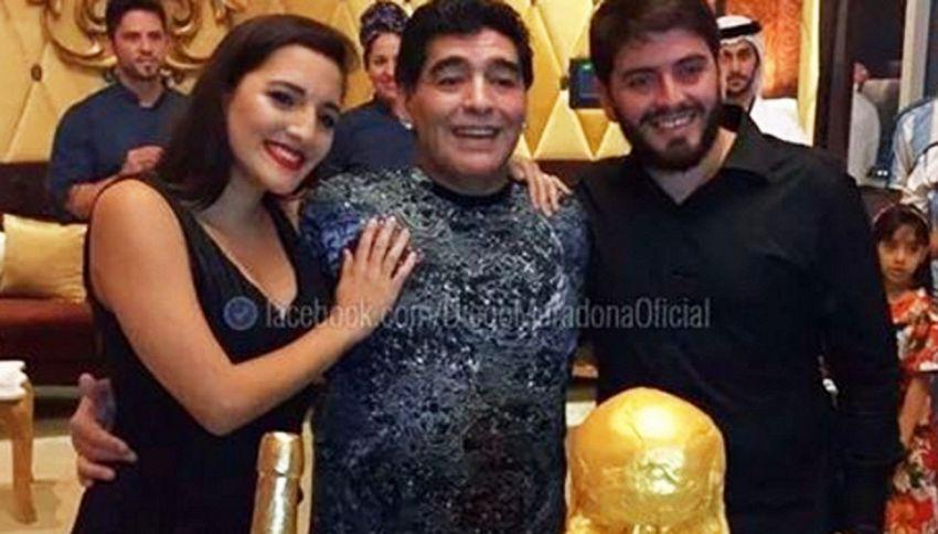 Compleanno triste per Maradona, amaro sfogo contro le figlie