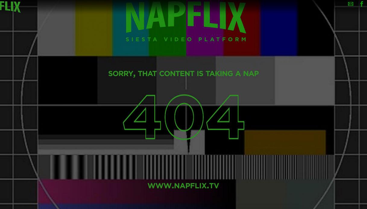 Napflix, il sito di streaming video che sa come farvi addormentare